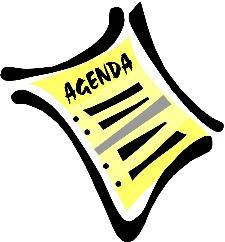 Upcoming Agenda & Resolutions