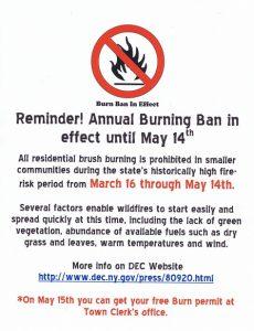 burnban poster