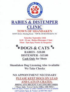 sept rabies clinic